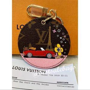 NEW Louis Vuitton Xmas Bag Charm & Key Holder
